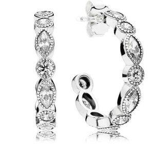 🔥Pandora🔥 Alluring Brilliant Marquise Earrings